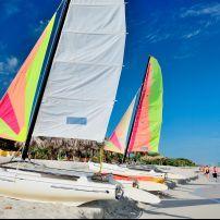 Catamaran, Beach, Varadero, Cuba
