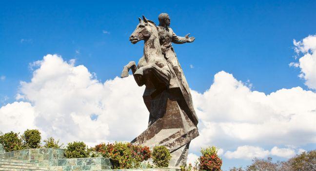 Antonio Maceo Monument, Revolution Square, Santiago de Cuba, Cuba
