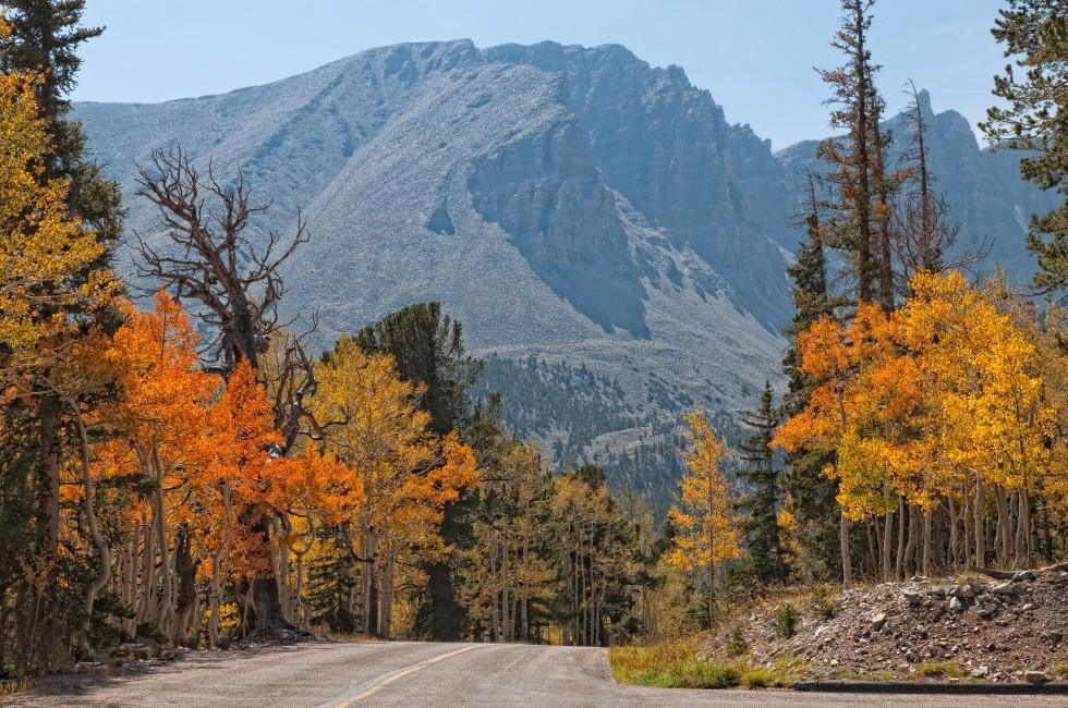 Wheeler Peak, Great Basin National Park, Nevada, USA
