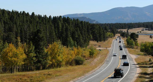 Peak to Peak Scenic and Historic Byway, Colorado, USA