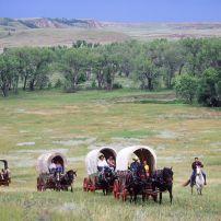 Theodore Roosevelt National Park, Medora, North Dakota, USA