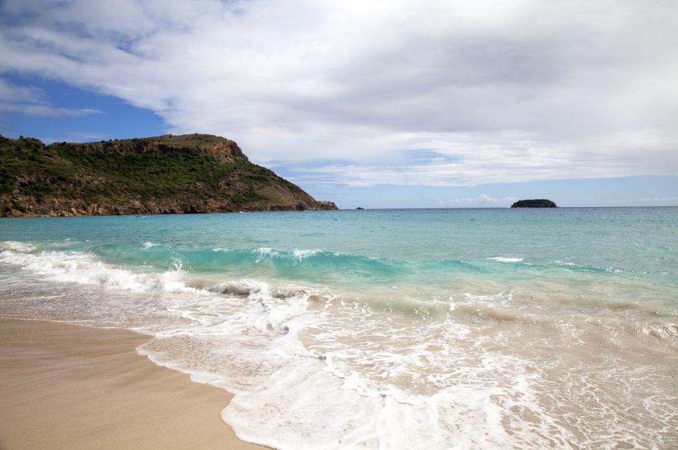 Saline Beach, St. Barthelemy, Caribbean