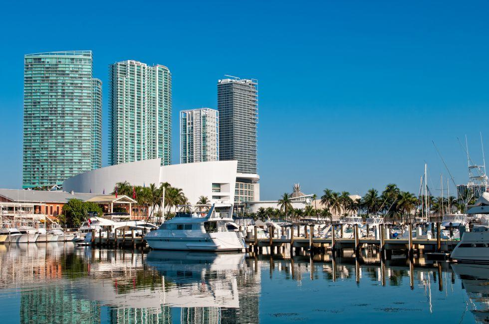 Marina, Downtown Miami, Miami, Florida, USA