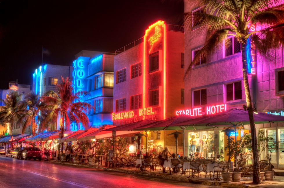 Miami South Beach Hotels, South Beach, Miami, Florida, USA