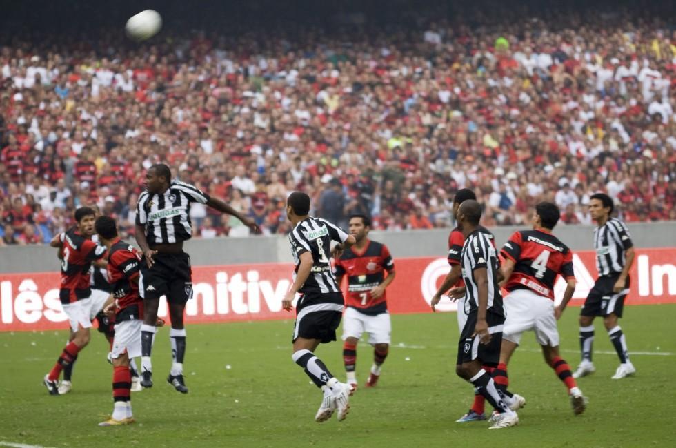 Soccer, Maracana Stadium, Rio de Janeiro, Brazil