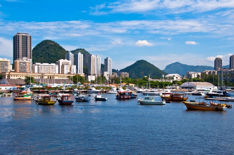 Boats, Botafogo District, Rio de Janeiro, Brazil