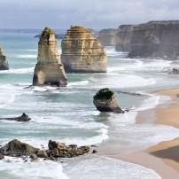 Twelve Apostles; Coastline, Great Ocean Road, Victoria, Australia