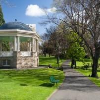 Gazebo, Path, Saint David's Park, Hobart, Australia