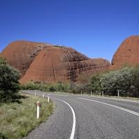 Australia Road, Rocks, Uluru and Kata Tjuta, Australia