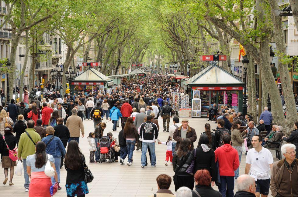 The Rambla, Barcelona, Spain