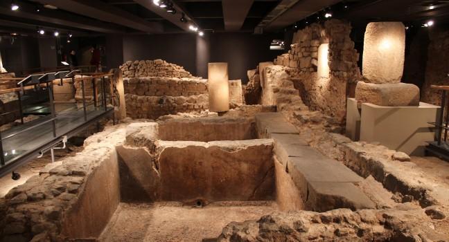 Ruins, Museu d'Història de la Ciutat, Barcelona, Spain