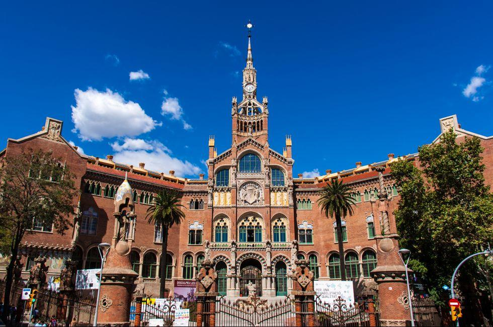 Antic Hospital de la Santa Creu i Sant Pau, Barcelona, Catalonia, Spain