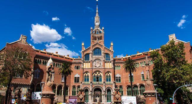 Antic Hospital de la Santa Creu i Sant Pau, Barcelona, Catalonia, Spain