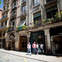 Passeig del Born, Sant Pere and La Ribera, Barcelona, Spain