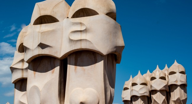 Casa Mila, The Eixample, Barcelona, Spain