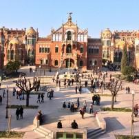 Recinte Modernista de Sant Pau, Barcelona, Spain