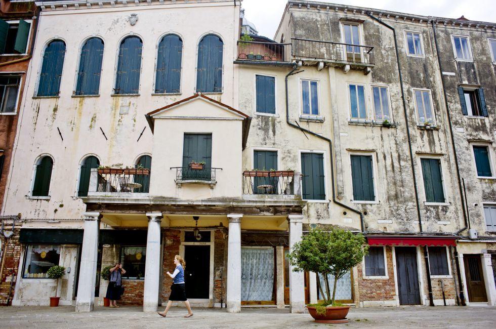 Jewish Ghetto, Cannaregio, Venice, Italy.