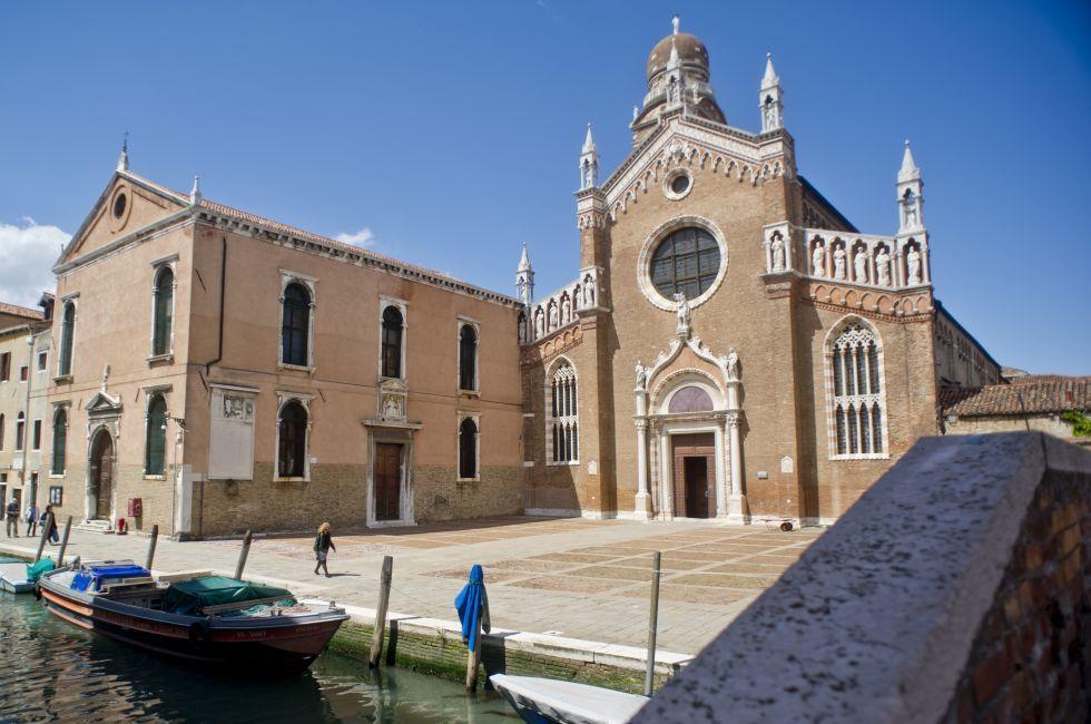 Madonna dell'Orto, Cannaregio, Venice, Italy