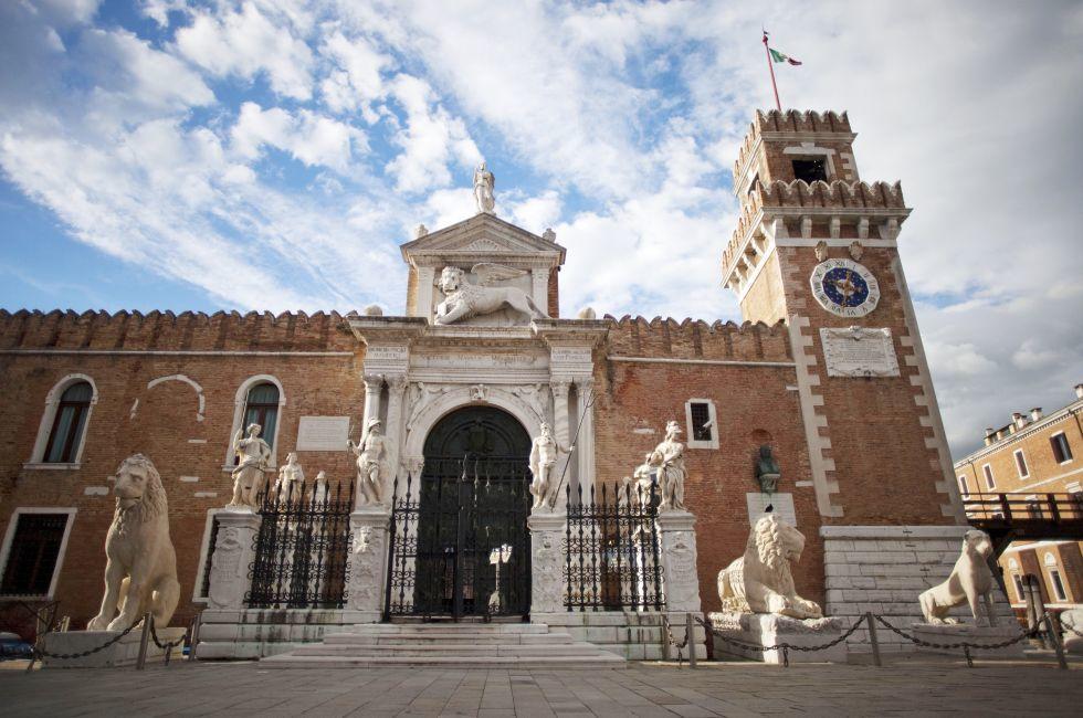 Arsenale, Castello, Venice, Italy.