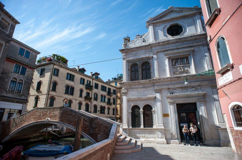 Scuola di San Giorgio degli Schiavoni, Castello, Venice, Italy.