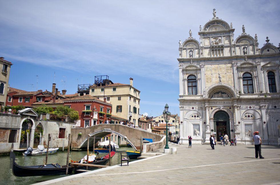 Scuola Grande di San Marco, Castello, Venice, Italy.
