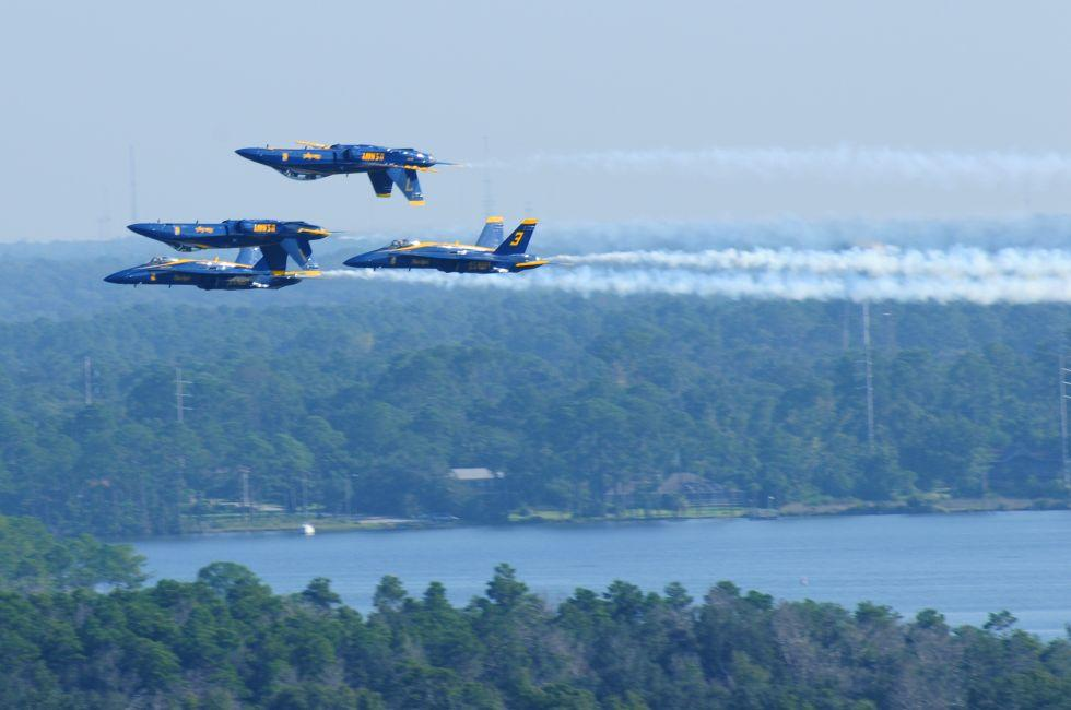 Air Show, Pensacola Naval Air Station, The Panhandle, Florida, USA