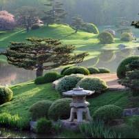 Chicago Botanic Garden, Chicago Outskirts, Chicago, Illinois, USA