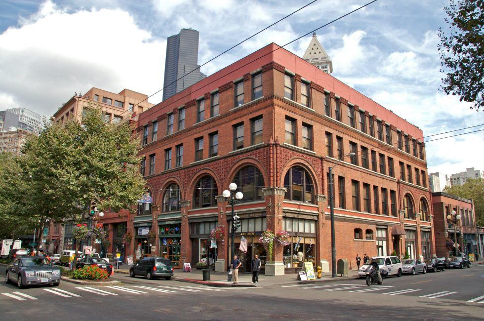 Pioneer Square, Seattle, Washington, USA