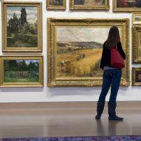 Gallery, Frye Art Museum, First Hill, Seattle, Washington, USA