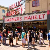 Pike Place Market, Downtown, Seattle, Washington, USA, North America