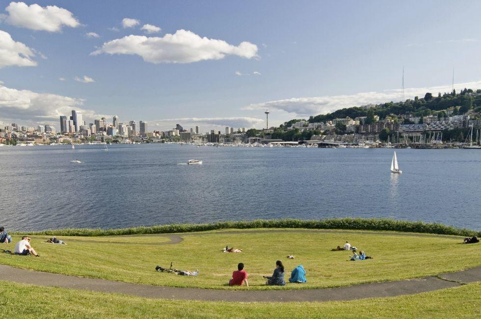 South Lake Union, Seattle, Washington, USA