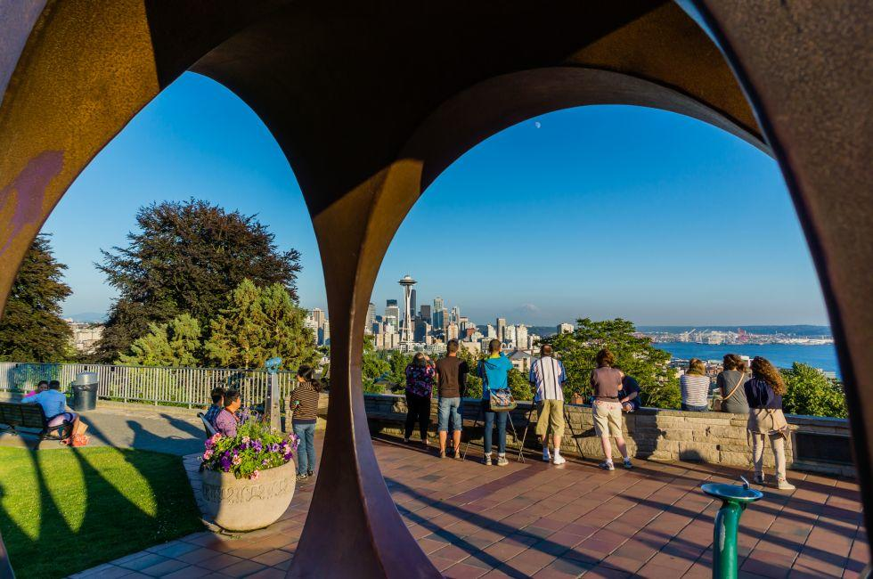Kerry Park, Seattle, Washington, USA