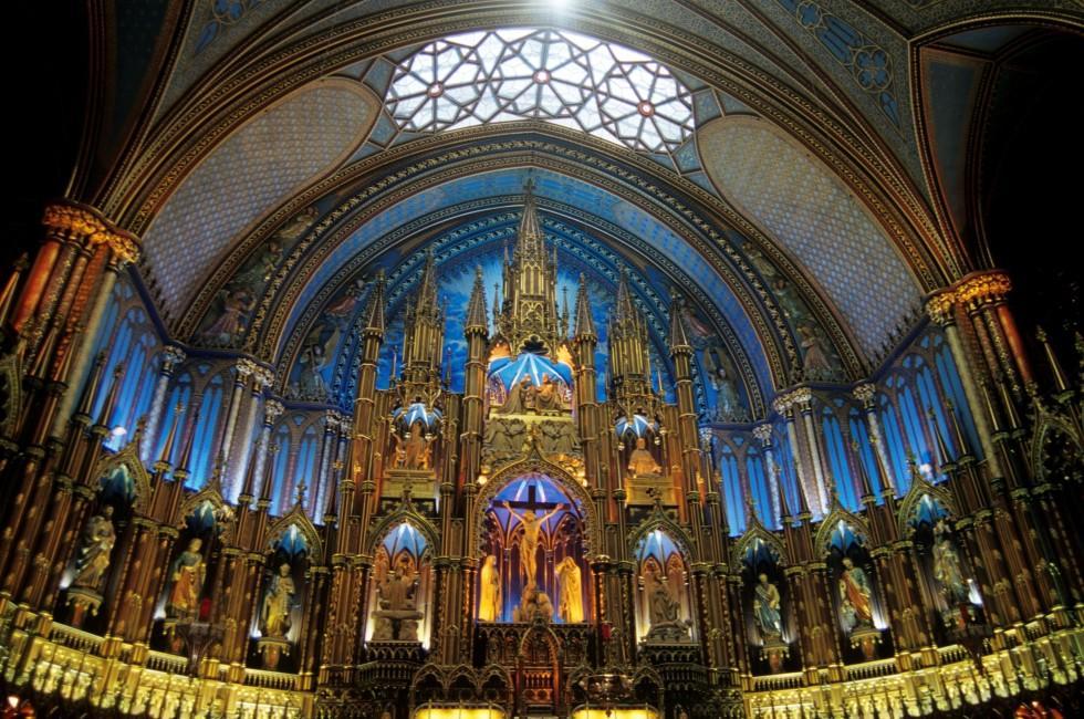 Basilique Notre-Dame-de-Montréal, Montreal, Quebec, Canada
