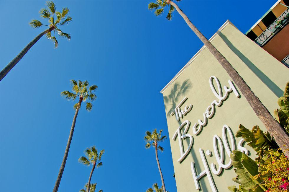 Beverly Hills Hotel, Beverly Hills, Beverly Hills and the Westside, Los Angeles, California, USA.