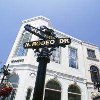 Rodeo Drive, Beverly Hills, Los Angeles, California, USA.