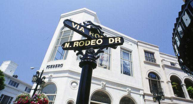 Rodeo Drive Review Los Angeles California Sight