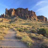Hiking Trail, Superstition Mountains, Arizona