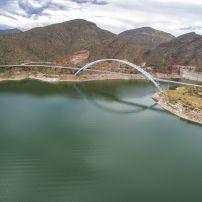 Bridge, Roosevelt Lake, Apache Trail, Arizona