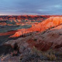 Landscape, Little Painted Desert, The Painted Desert, Arizona, USA