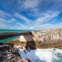 Glass Window Bridge, Eleuthera Island, Bahamas, Caribbean