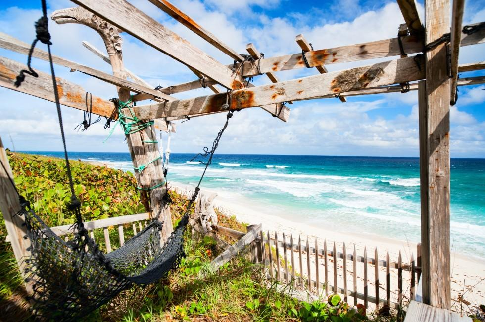 Hammock, Beach, Eleuthera, Eleuthera and Harbour Island, The Bahamas