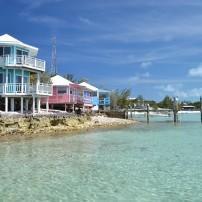 Coastline, Staniel Cay Yacht Club. Exumas, Bahamas
