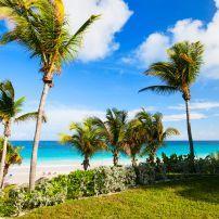 Beach, Barbour Island, Bahamas, Caribbean