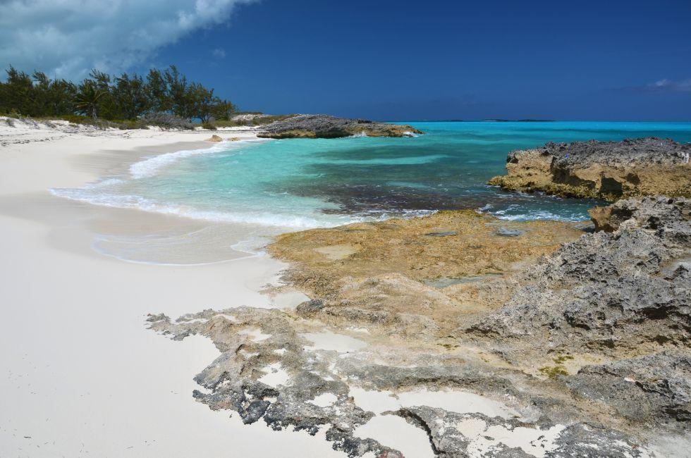 Beach, Little Exuma, The Bahamas, Caribbean