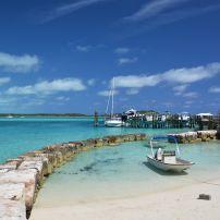 Boat, Port, Exuma Cays, The Bahamas, Caribbean