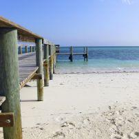 Pier, Crooked Island, Long Cay, The Bahamas, Caribbean