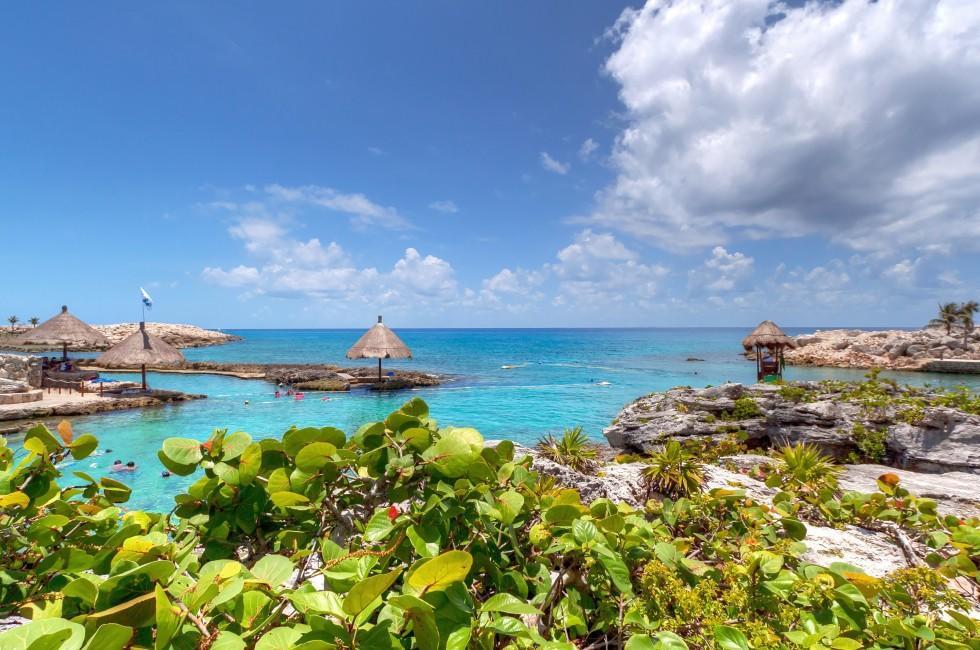 Coastline, Beach, Diving, Punta Brava, Carribbean Coast, Mexico