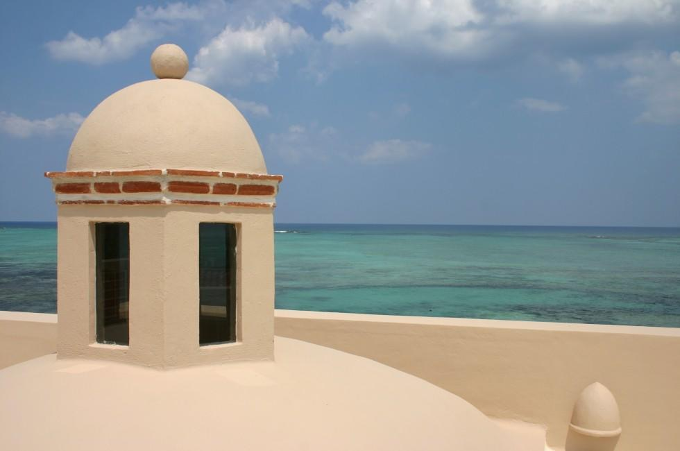 Building, Overlook, Tankah, Caribbean Coast, Mexico