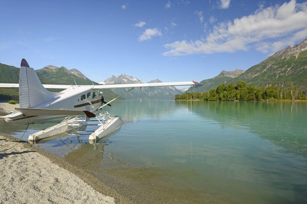 Float Plane, Crescent Lake, Lake Clark National Park, Alaska
