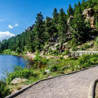 Lily Lake, Estes Park, Rocky Mountain National Park, Colorado, USA, North America
